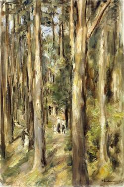 Picnic in the Woods, 1920 by Max Liebermann