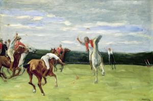 Polo Player in Jenischpark, Hamburg, 1903 by Max Liebermann