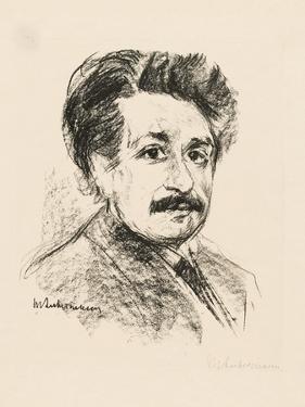 Portrait of Albert Einstein by Max Liebermann