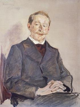 Portrait of Dr Max Linde by Max Liebermann