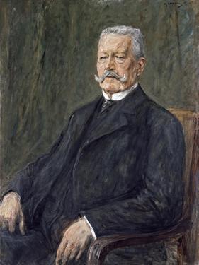 Portrait of Paul Von Hindenburg by Max Liebermann