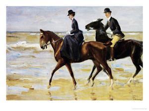 Riders on the Beach, 1903 by Max Liebermann