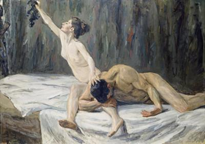 Samson and Delilah, 1902 by Max Liebermann
