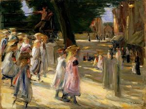 The Road to the School at Edam, 19th or Early 20th Century by Max Liebermann