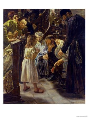 The Twelve-Year-Old Jesus in the Temple, 1879 by Max Liebermann