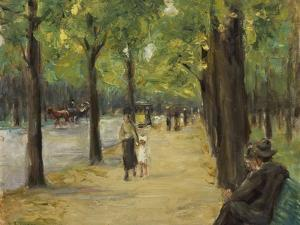 The Zoological Garden in Berlin, about 1920 by Max Liebermann