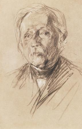 Theodor Fontane, 1896 by Max Liebermann