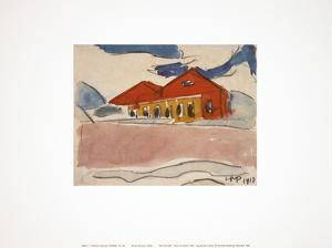 House on the Beach by Max Pechstein