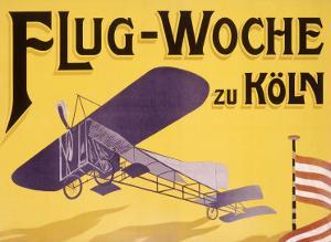 Flug Woche Monoplane Aviation by Max Ponty