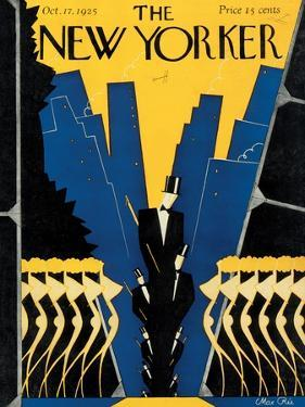 The New Yorker Cover - October 17, 1925 by Max Ree