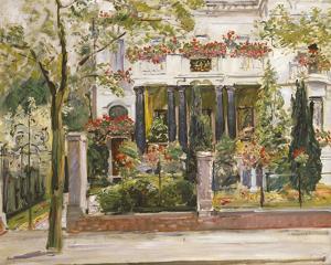 Steinbartschen Villa, Berlin by Max Slevogt