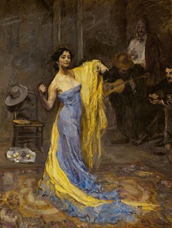 The dancer Marietta di Rigardo by Max Slevogt