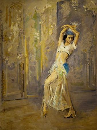 The dancer Pawlowa by Max Slevogt
