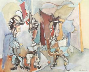 Three Musicians by Max Weber