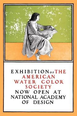 Exhibition of the American Water Color Society by Maxfield Parrish