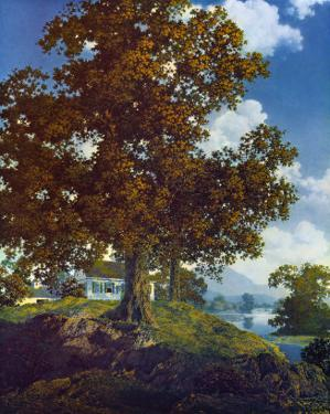 Peaceful Valley by Maxfield Parrish