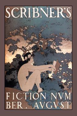 Scribner's Fiction, August 1897 by Maxfield Parrish