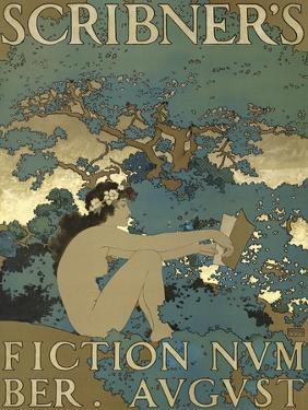 Scribner's Fiction Number. August by Maxfield Parrish