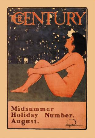 The Century: Midsummer Holiday Number, August by Maxfield Parrish