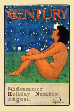 The Century Midsummer Holiday Number, August by Maxfield Parrish