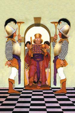 The King of Hearts by Maxfield Parrish