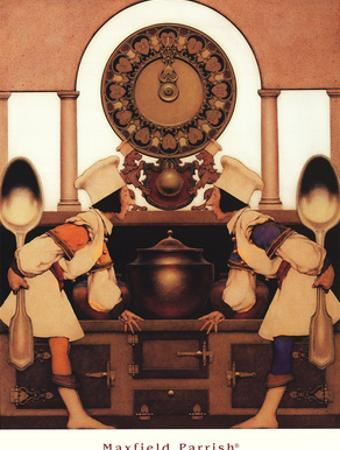 Two Pastry Cooks by Maxfield Parrish