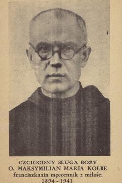 Maximilian Kolbe, Polish Franciscan Friar and Martyr