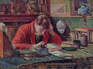 Emile Verhaeren by Maximilien Luce