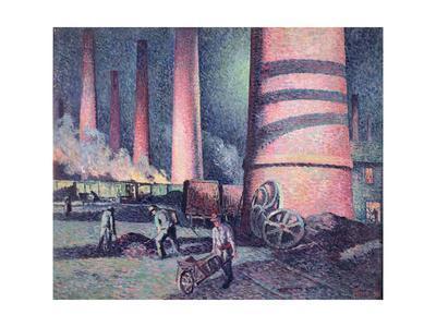 Factory Chimneys, 1896