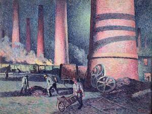 Factory Chimneys, 1896 by Maximilien Luce