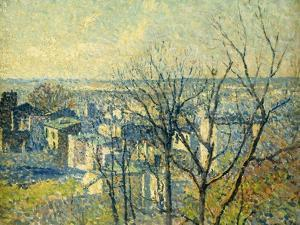 From the Rooftops; Sur Les Toits, 1890-95 by Maximilien Luce