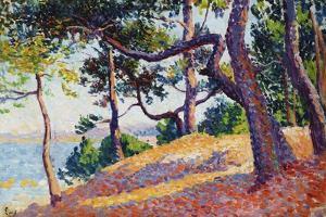 Landscape in Saint-Tropez, 1892 by Maximilien Luce