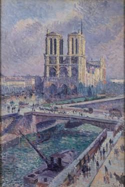 Notre Dame, 1899 by Maximilien Luce