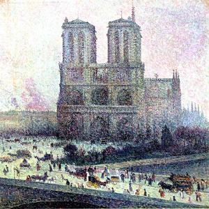 Notre-Dame, Paris, 1900-01 by Maximilien Luce