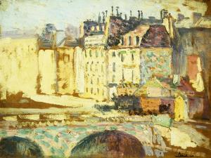 Paris, Le Pont Neuf by Maximilien Luce