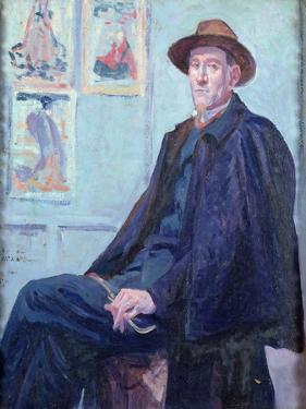 Portrait of Felix Feneon by Maximilien Luce