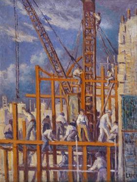 The Building Sites of Paris by Maximilien Luce