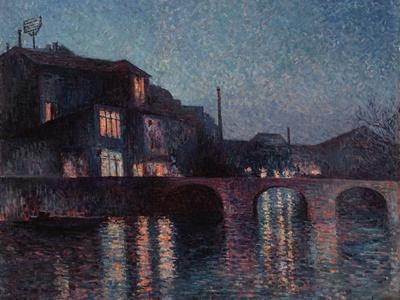 The River Sambre in Charleroi, 1896