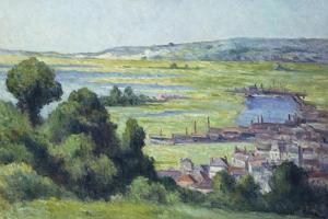 View of Honfleur by Maximilien Luce