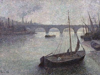 View of the Thames, 1893