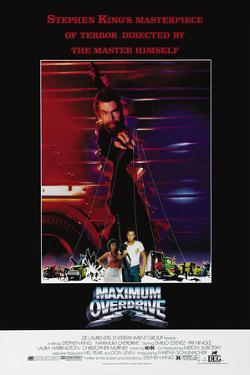 MAXIMUM OVERDRIVE [1986], directed by STEPHEN KING.
