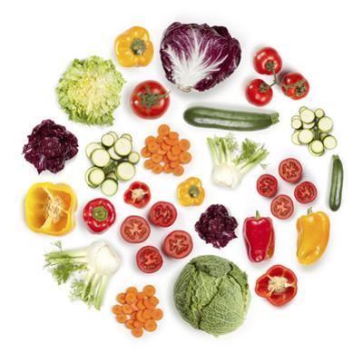 Healthy Vegetarian Food by Maxiphoto