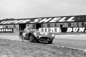 Carroll Shelby Driving Aston Martin Dbr1, Tt Race, Goodwood, Sussex, 1959 by Maxwell Boyd