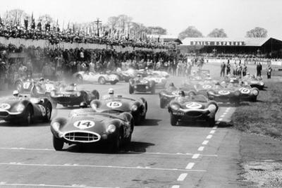 Scene at the Start of a Sports Car Race, Silverstone, Northamptonshire, (Late 1950S) by Maxwell Boyd