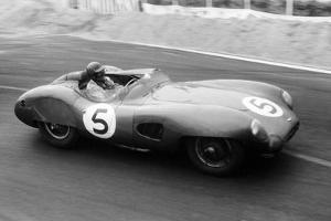 The Winning Aston Martin Dbr1 in the Le Mans 24 Hours, France, 1959 by Maxwell Boyd