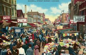 Maxwell Street Market, Chicago, Illinois