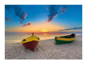 Two Boats by Maya Sokolovska