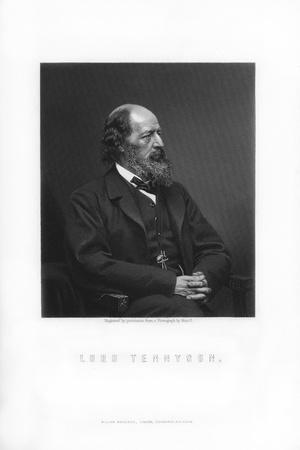 Alfred Tennyson, 1st Baron Tennyson, Poet Laureate of the United Kingdom