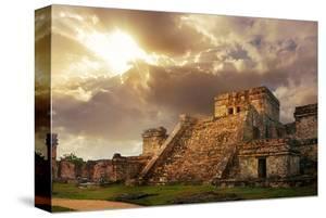 Mayan Castillo Tulum Mexico