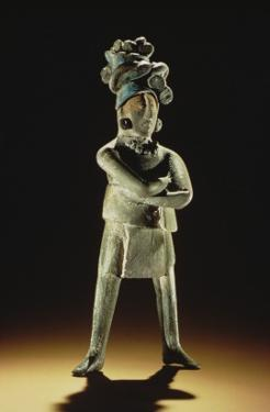 Standing Royal Figure by Mayan